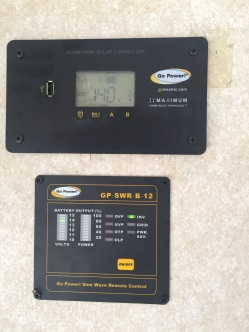 Solar Panel Controllers, battery monitor