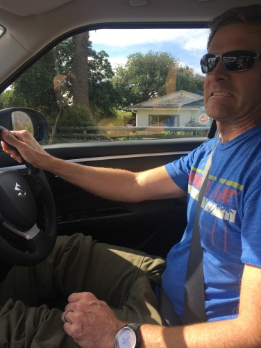 I made Jeff drive first. I was nearly in tears just dealing with international phone/data. And believe me, there was no problem, not hard but so much NEWNESS!